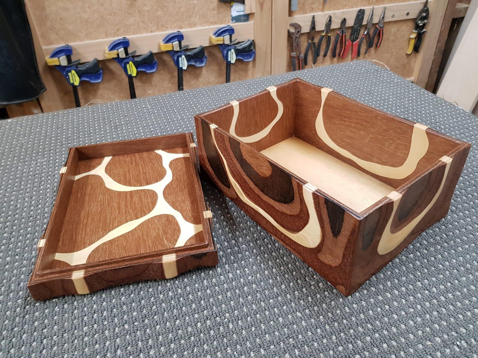 Handmade wodden box