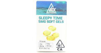 10 Sleepy Time Soft Gels