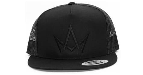 March And Ash - Black Hat Black Crown Logo - Snapback