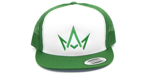 March And Ash - Green Hat Green Crown Logo - Snapback