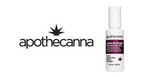 Apothecanna - Extra Strength Body Spray - 2oz