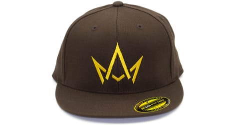 March And Ash - Brown Hat Gold Crown - 210 Fitted