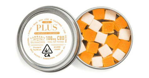 Plus - Pineapple & Coconut  CBD - 100mg
