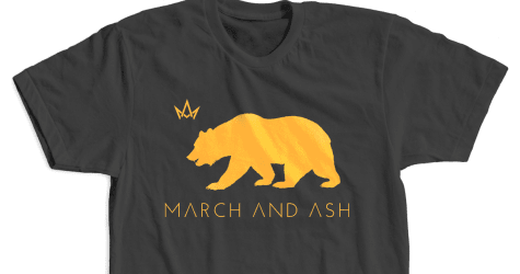Men's - Cali Bear T-shirt Black