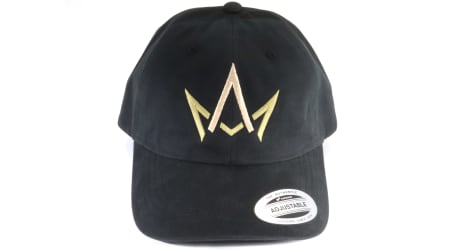 March And Ash - Black Hat Crown Logo - DAD Hat