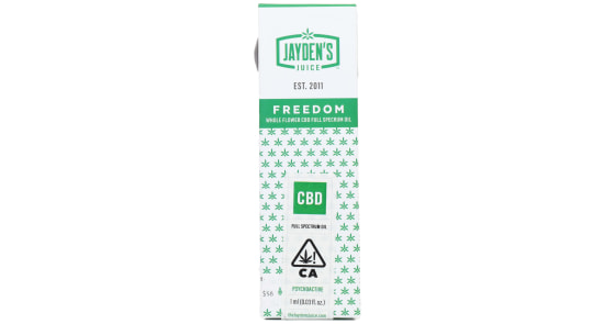 Jayden's Juice - Full Spectrum Oil (FSO) Freedom 20:1 - 1ml