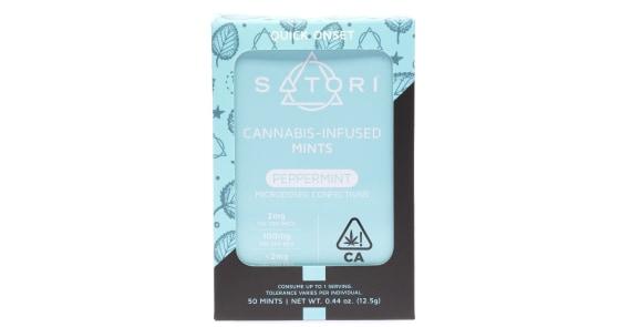 Satori - Peppermint Mints - 100mg
