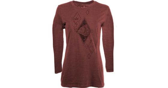 Women's - Sun & Moon Bear Long-Sleeve Shirt - Large