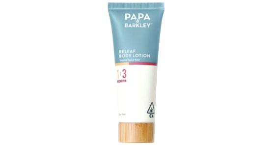 Papa & Barkley - 1:3 THC Rich Releaf Body Lotion - 75ml