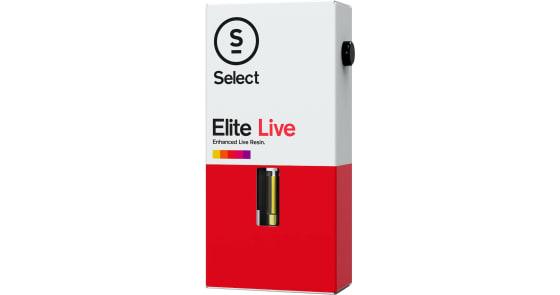 Select - XXX OG Elite Live Resin Cartridge - 0.5g