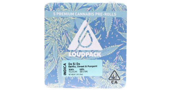 Loudpack - Do Si Do - 5 Pack Pre-Rolls