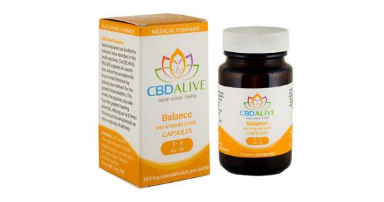 CBDAlive - 1:1 Balance Capsules - 20ct