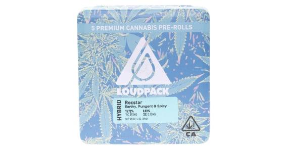 Loudpack - Rocstar - 5 Pack Pre-Rolls