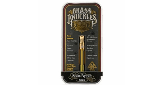 Brass Knuckles - Sour Apple - 1g
