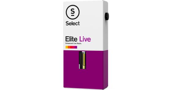 Select - XXX OG Elite Live Resin Cartridge - 1g