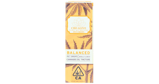 CBDAlive - 1:1 Balanced Pet Drops - 15ml