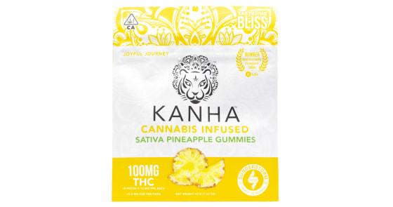 Kanha - Sativa Pineapple Gummies - 100mg