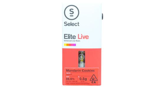 Select - Mandarin Cookies Elite Live Resin Cartridge - 0.5g