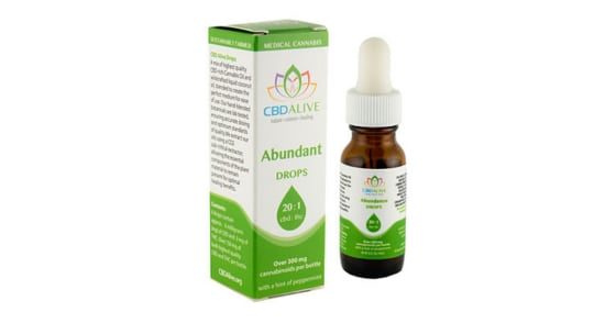 CBDAlive - 20:1 Abundant Drops - 15ml