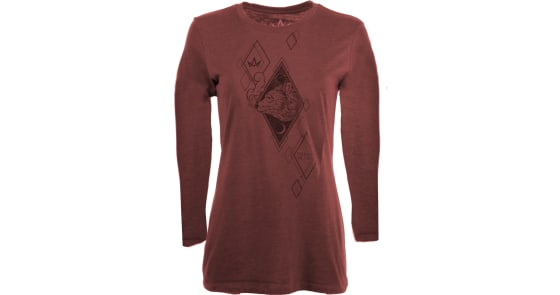 Women's - Sun & Moon Bear Long-Sleeve Shirt - Medium