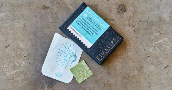 Kin Slips -  Nice Dream Extra Strength Sublingual Strips - 200 mg THC