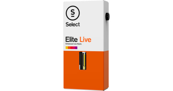 Select - Lemon Tree Elite Live Resin Cartridge - 1g