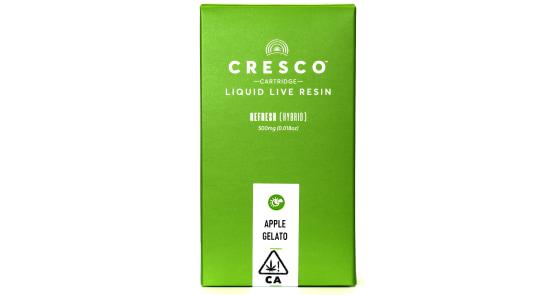 Cresco - Apple Gelato Liquid Live Resin Cartridge - 0.5g