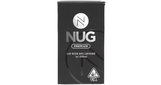NUG - Strawberry Banana Live Resin Cartridge - 1g