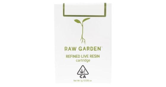 Raw Garden - Banana Smoothie Cartridge - 1g