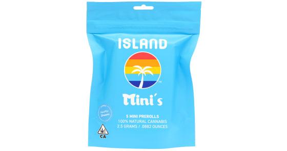 Island - Citrus Wave Mini Pre-Roll Pack - 5ct