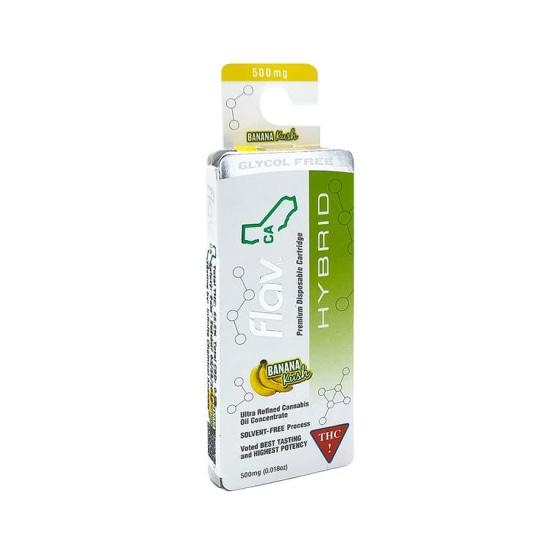 Flav - Cartridges - Banana Kush - 500 mg