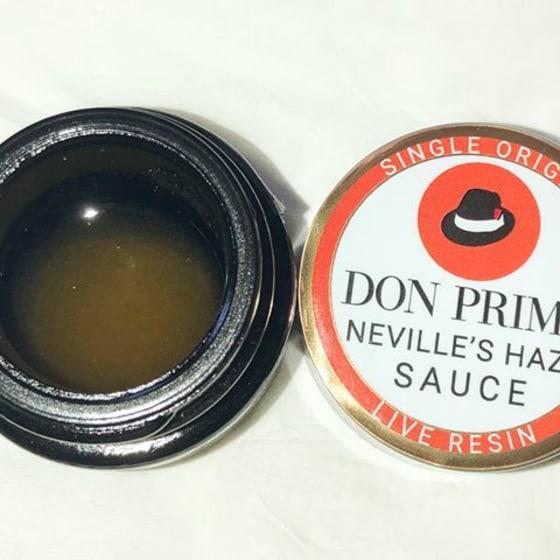 Don Primo - Live Resin Sauce - Neville's Haze