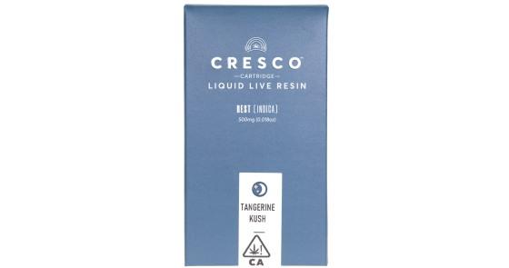 Cresco - Tangerine Kush Liquid Live Resin Cartridge - 0.5g