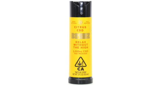 Breez - Citrus CBD Spray - 1000mg
