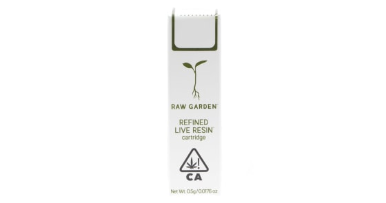 Raw Garden - Banana Slurm #8 Cartridge - 0.5g