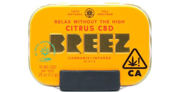 Breez - Citrus CBD Tin - 200mg