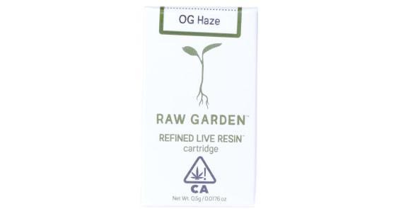 Raw Garden - OG Haze Cartridge - 0.5g