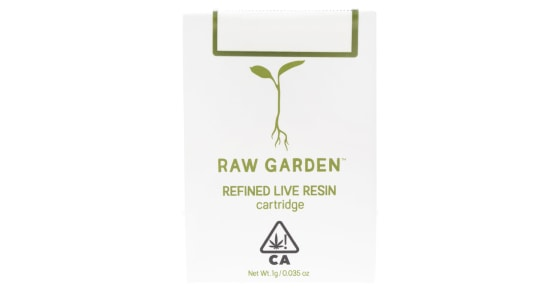 Raw Garden - Triple OG F3 Cartridge - 1g