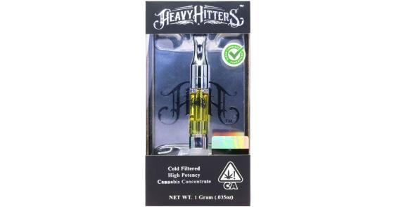 Heavy Hitters - Sour Diesel Cartridge - 1g