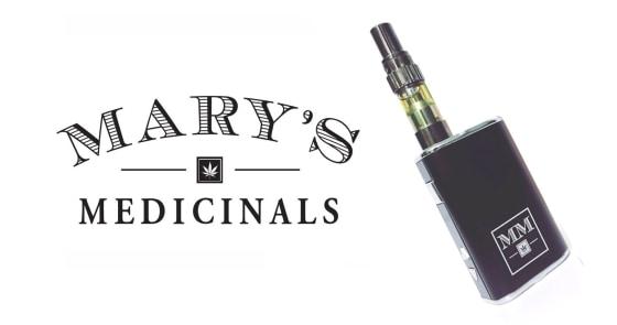 Mary's Medicinals - Vape Kit 3:1 CBD:THC Blend - 0.5g