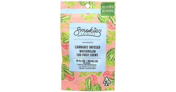 Smokiez Edibles - Watermelon Cannabis Infused CBD Fruit Chews - 250mg