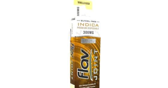 Flav - Joints Disposable - Vanilla Kush - 300 mg
