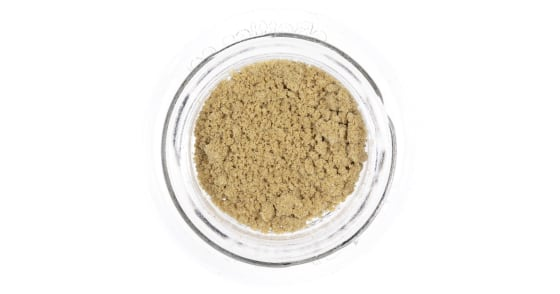 Nasha - Lemon Sour Diesel Orange Powder Hash - 1g