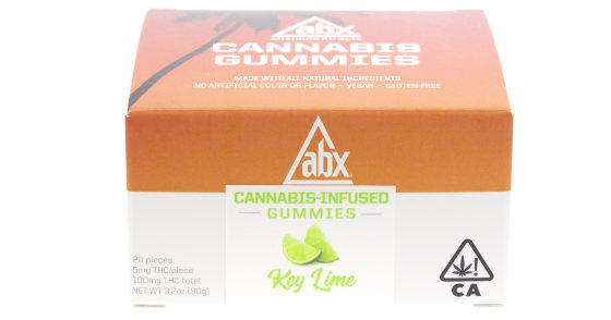 ABX - Key Lime Gummies - 100mg
