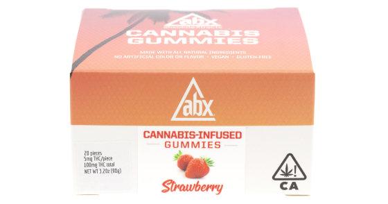ABX - Strawberry Gummies - 100mg