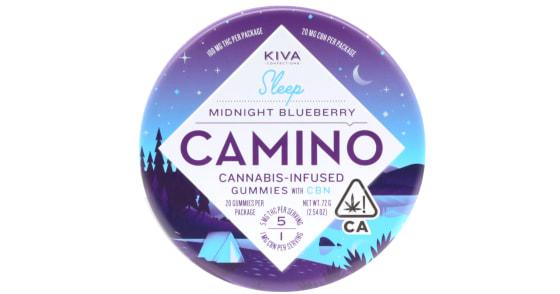 Kiva - Midnight Blueberry Camino Gummies - 100mg