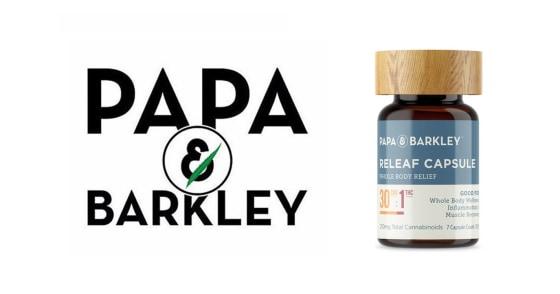 Papa & Barkley - Releaf Capsules 30:1 CBD - 30 Capsules