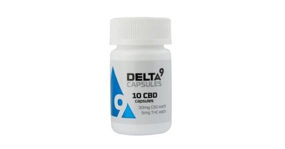 Delta9 - CBD Capsules 300mg - 10 Capsules