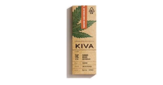 Kiva - Tangerine Dark Chocolate - 100mg