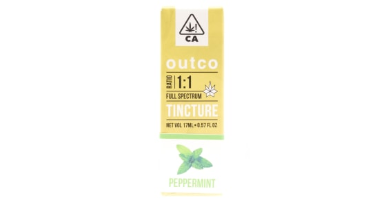 Outco - 1:1 Peppermint Flavored Tincture - 17ml